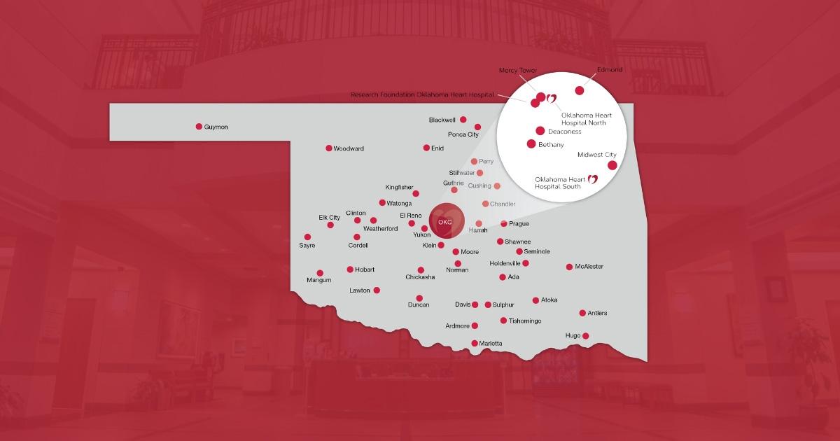 Find A Clinic Oklahoma Heart Hospital