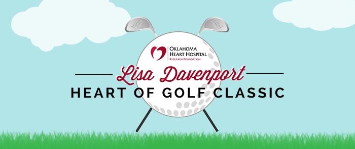 Lisa Davenport Heart of Golf Classic graphic